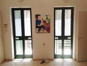 דלתות אלומיניום פרופיל בלגי
